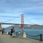San Francisco - Golden Gate Bridge dal lato © Alessandra Colucci