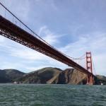 San Francisco - Golden Gate Bridge dalla barca - andata lato A © Alessandra Colucci