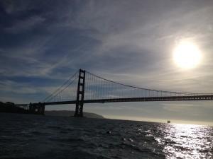San Francisco - Golden Gate Bridge dalla barca - andata lato B © Alessandra Colucci