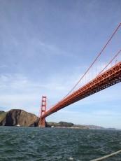 San Francisco - Golden Gate Bridge dalla barca - ritorno lato A © Alessandra Colucci