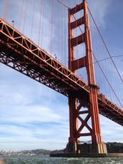 San Francisco - Golden Gate Bridge dalla barca - ritorno lato B © Alessandra Colucci