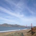 San Francisco - Golden Gate Bridge dalla spiaggia © Alessandra Colucci