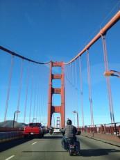 San Francisco - Golden Gate Bridge dalla strada © Alessandra Colucci