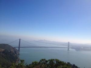 San Francisco - Golden Gate Bridge dall'alto San Francisco - Golden Gate Bridge dal mare © Alessandra Colucci