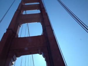 San Francisco - Golden Gate Bridge - dettaglio © Alessandra Colucci