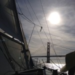 San Francisco - Golden Gate Bridge sailing © Alessandra Colucci