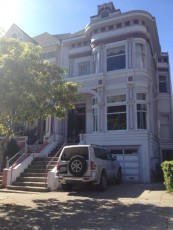 San Francisco - Haight Ashbury - victorian house © Alessandra Colucci