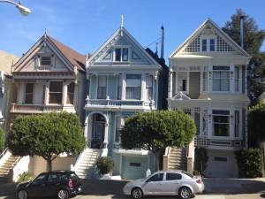 San Francisco - Haight Ashbury - victorian housesSan Francisco - Haight Ashbury - victorian house © Alessandra Colucci