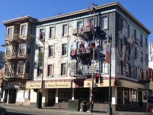 San Francisco - North Beach - palazzo © Alessandra Colucci