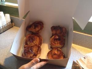 San Francisco - bakery - ciambelle alla cannella © Alessandra Colucci