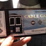 San Francisco - cable car - biglietto © Alessandra Colucci