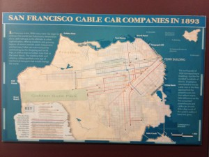 San Francisco - cable car museum - linee 1893 © Alessandra Colucci