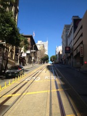 San Francisco - cable car - panorama © Alessandra Colucci