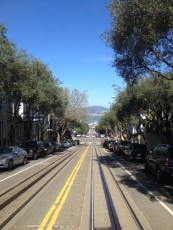 San Francisco - cable car - panorama © Alessandra Colucci