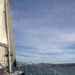 San Francisco dalla barca a velaSan Francisco - la barca a vela © Alessandra Colucci