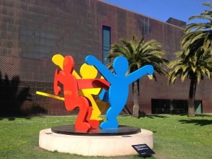 San Francisco - de Young Museum - Keith Haring - Three Dancing Figures © Alessandra Colucci