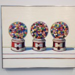 San Francisco - de Young Museum - Wayne Thiebaud - Three Machines © Alessandra Colucci
