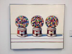 San Francisco - de Young Museum - Wayne Thiebaud - Three Machines © Alessandra Colucci
