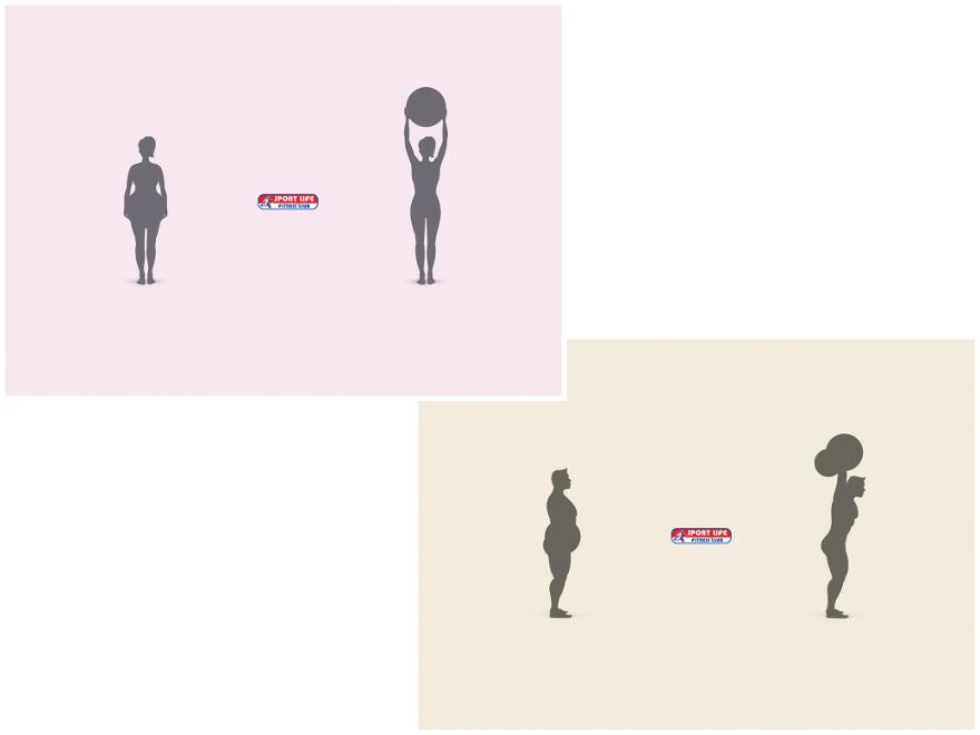 Sport Life Fitness Club - campagna pubblicitaria