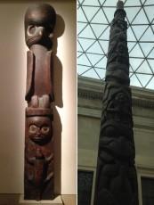 London - British Museum - Totem © Alessandra Colucci