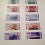 London - Design Museum - Banknote for Norges Bank by Metric Design © Alessandra Colucci