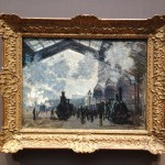 London - National Gallery - Claude Monet - The Gare St-Lazare © Alessandra Colucci