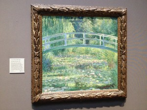 London - National Gallery - Claude Monet - The Water-Lily Pond © Alessandra Colucci