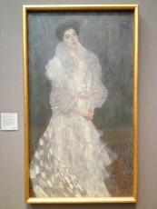 London - National Gallery - Gustav Klimt - Portrait of Hermine Gallia © Alessandra Colucci