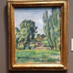 London - National Gallery - Paul Cézanne - Landscape with poplars © Alessandra Colucci