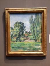 London - National Gallery - Paul Cézanne - Landscape with poplars © Alessandra Colucci