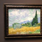 London - National Gallery - Vincent van Gogh - A wheatfield with cypresses © Alessandra Colucci