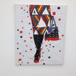 London - Saatchi Gallery - Eddy Ilunga Kamuanga - Solitude © Alessandra Colucci
