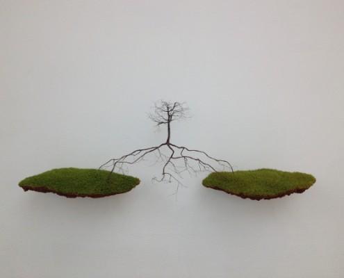 London - Saatchi Gallery - Jeorge Mayet - Entre dos aguas © Alessandra Colucci