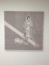 London - Saatchi Gallery - Joe Webb - Rauschenberg's cleaner © Alessandra Colucci