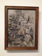 London - Tate Modern - Georges Braque - Clarinet and bottle of rum on a mantelpiece © Alessandra Colucci