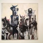London - Tate Modern - Ibrahim El-Salahi - Reborn Sound of childhood dreams I © Alessandra Colucci