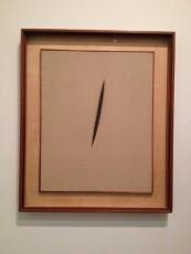"London - Tate Modern - Lucio Fontana - Spatial Concept ""Waiting"" © Alessandra Colucci"