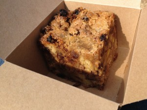 Oxford - Natural Bread Bakery - torta ai mirtilli © Alessandra Colucci
