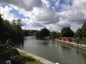 Iffley - Iffley Lock - panorama