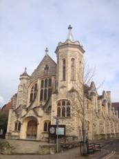 Oxford - Cowley Road - chiesa