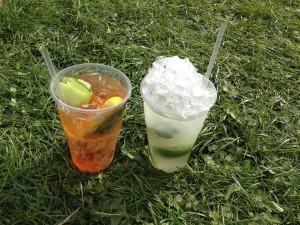 The Foodies Festival - pimm's & mojito