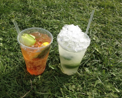 The Foodies Festival - pimm's & mojito
