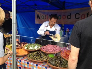 The Foodies Festival - wrap