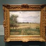 Oxford - Ashmolean Museum - Camille Pissarro - Landscape near Pontoise © Alessandra Colucci