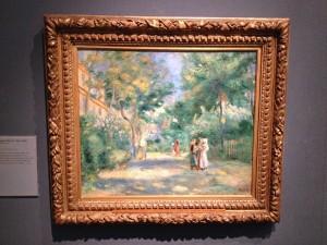 Oxford - Ashmolean Museum - Pierre-Auguste Renoir - A garden in Montmartre © Alessandra Colucci