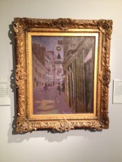 Oxford - Ashmolean Museum - Walter Richard Sickert - The rue Notre-Dame des Champs [Paris] © Alessandra Colucci