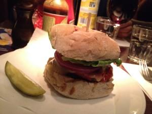Oxford - Joe's - hamburger © Alessandra Colucci