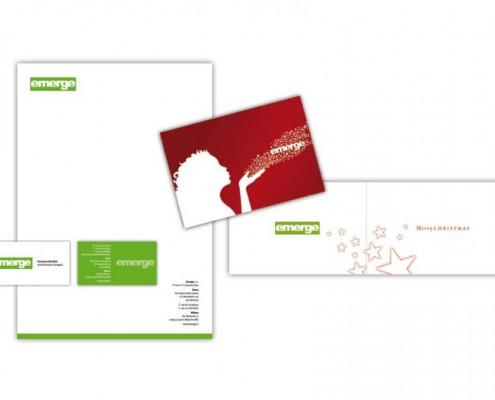 Emerge - brand identity