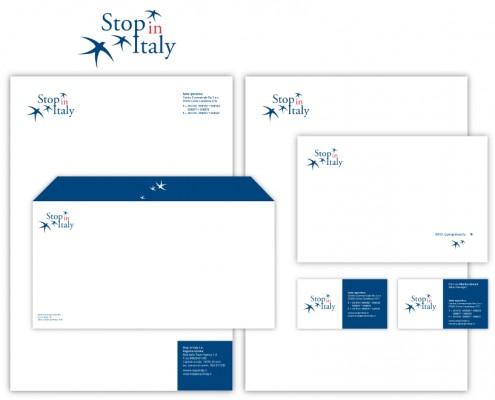 Stop in Italy - brand identity