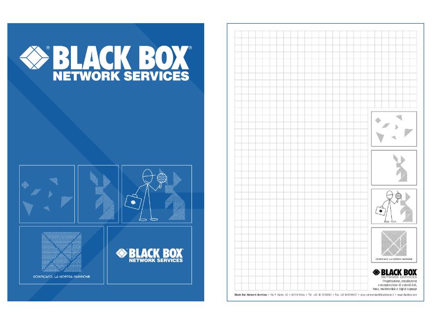 Black Box - block notes and folder